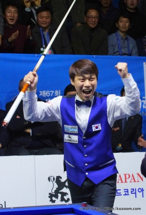 Sung-Won Choi writes history with world gold