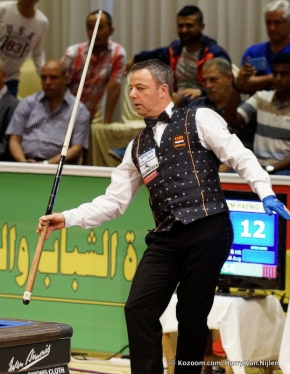 Magisterial Dick Jaspers in Luxor final: 5.000 average
