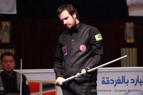 Superstart beim Weltcupfinale; Cenet mit 10-Aufnahmen-Match