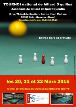 billard saint quentin 02100