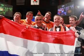 Magisch WK-goud voor Nederlands tweetal