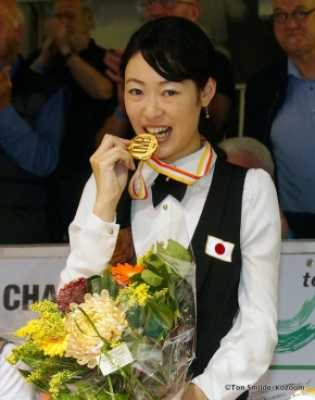 Japanese Orie Hida is back as the world's best