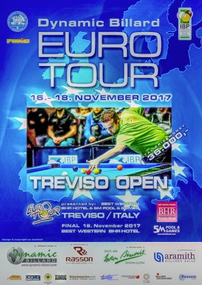 Treviso hosts the final Euro-Tour of the 2017 season