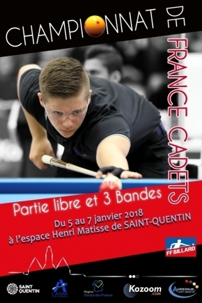 French talents for titles in 3-cushion and free game