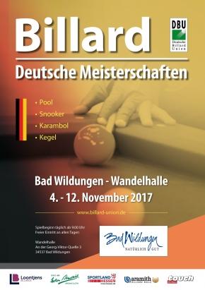 DM 2017 - 350 TeilnehmerInnen; 37 Titel; 9 Tage Bad Wildungen