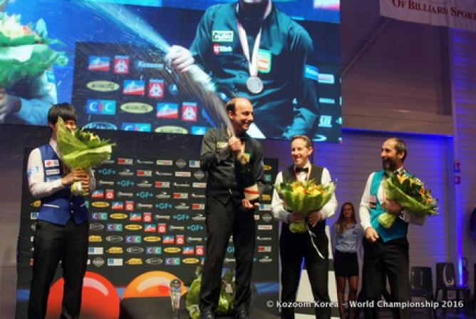 Dani Sánchez, cuatro veces súper Campeón del Mundo