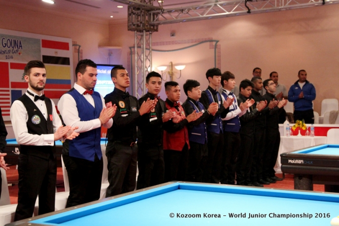 Four groups at the World's, four Koreans on top