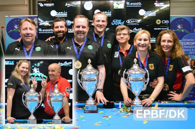 Seniors and Ladies European Championships end with final awards