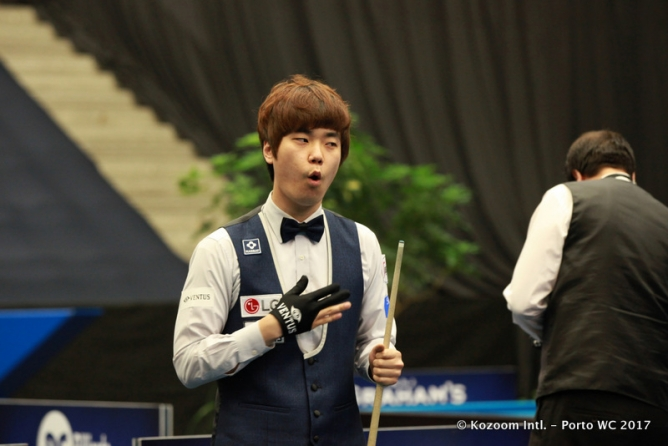 Haeng-Jik Kim (25) wins his first World Cup in Porto