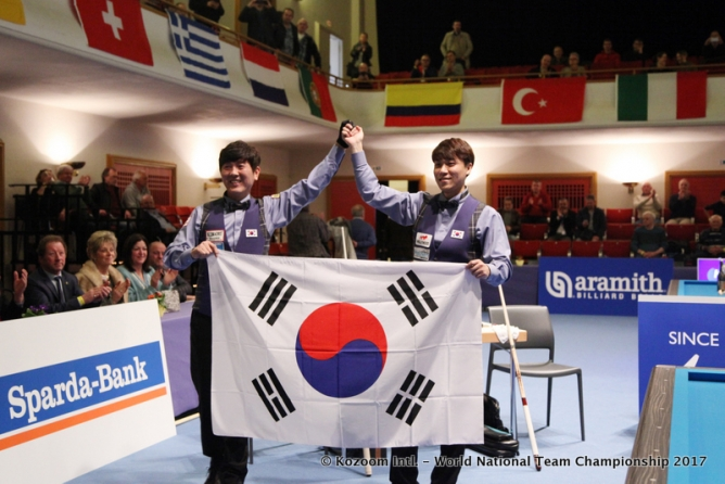 World gold for Korean star players in Viersen