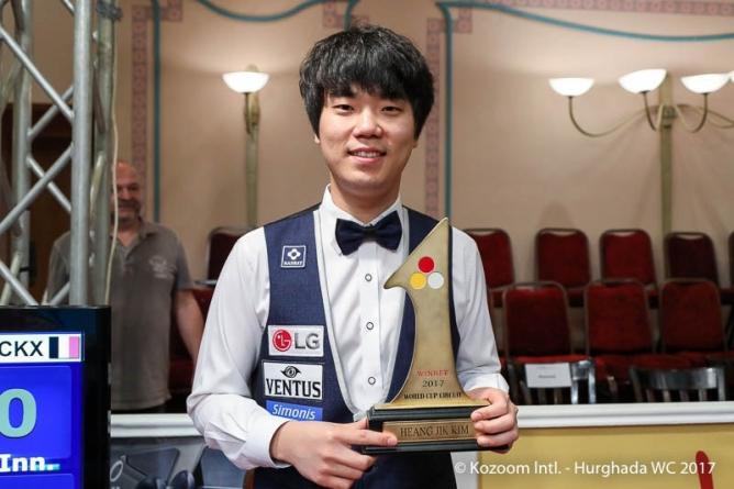 Haeng-Jik Kim (25) - ein echter Weltstar