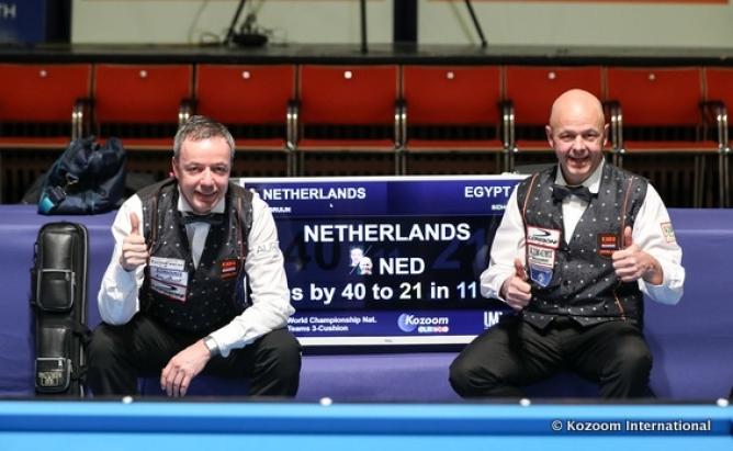 Deutschland im Viertelfinale; Niederlande mit Weltrekordmatch
