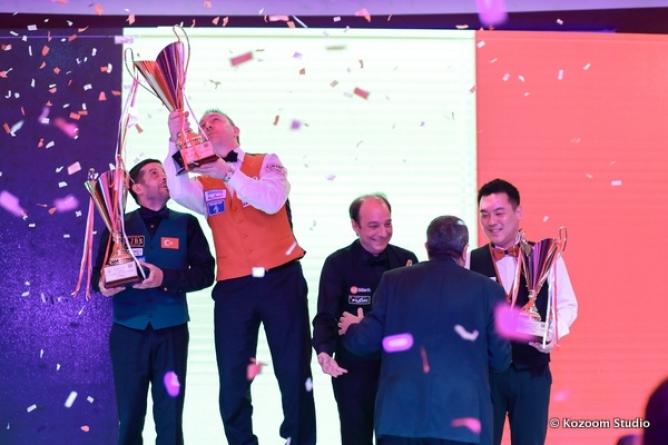 Künig Caudron gewinnt in Antalya mit 2,739 GD