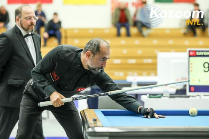 40 in 6 - neuer Weltcuprekord durch Sayginer; Horn im Semi