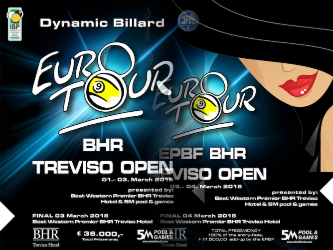 The BHR Treviso Open gets underway Thursday morning