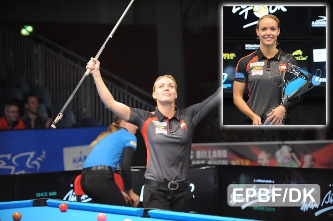 Jasmin Ouschan completes double triumph for Austria in Klagenfurt