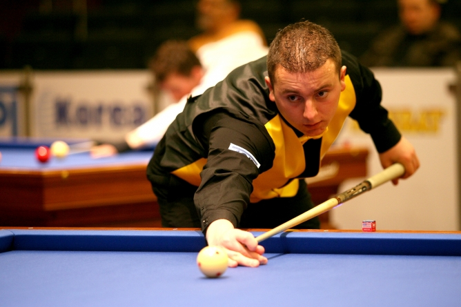 Carom Billiard Palazón keeps hope alive by victory against