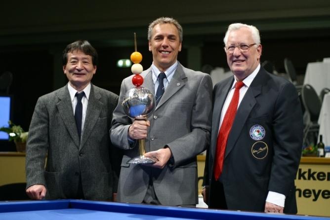 Turnier der Legenden mit Ceulemans und Kobayashi