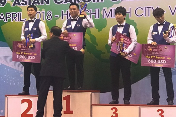 Jae-Ho Cho (38) new Asian champion