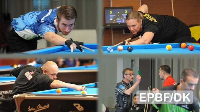 9-ball and team action in Treviso today