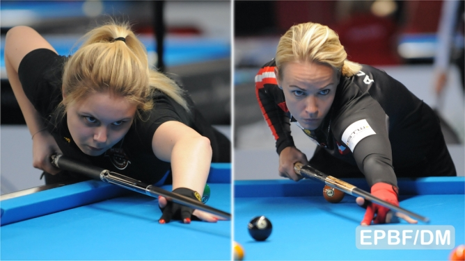 Tkach and Ouschan on their way at Predator Klagenfurt Open