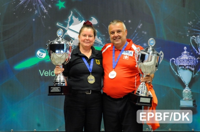 Hehre and Karabiyik go for Gold in 8-ball