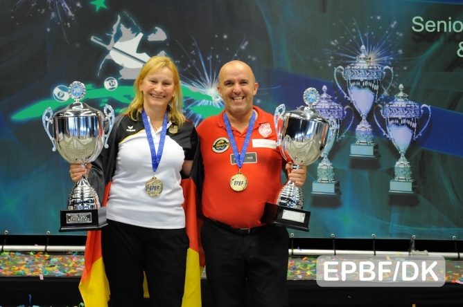 10-ball titles captured by Correia and Wessel