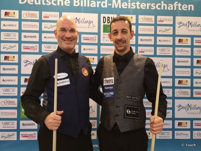 Martin Horn recaptures the title in Germany