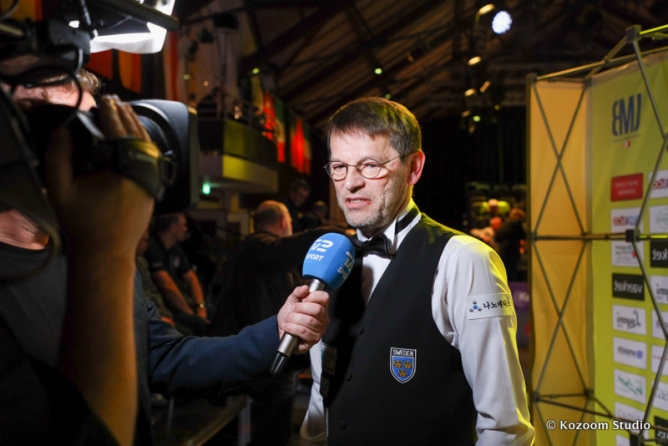 Torbjörn Blomdahl (57), the passion and love for billiards