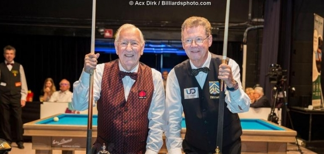 Ceulemans (83) and Dielis (75) still winners in Belgium