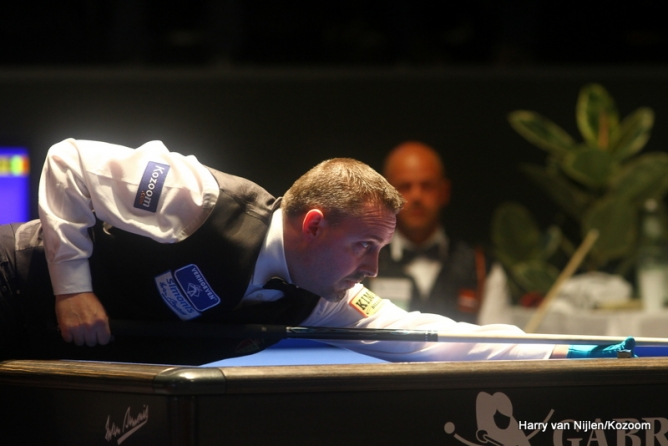 Carom Billiard Frederic Caudron Stops De Bruijn In Semis Carom