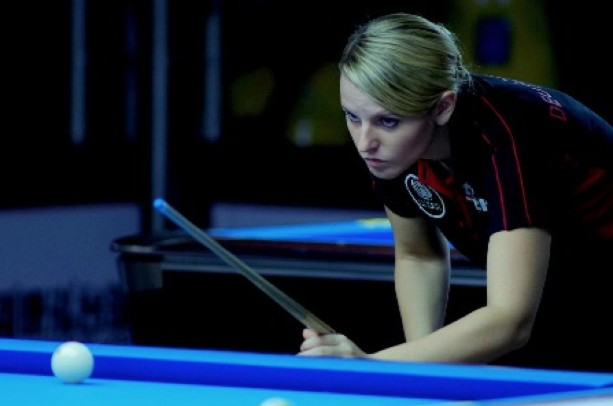US Pool Billiard COMING THROUGH IN CRUNCH TIME Pool - World Team Cup