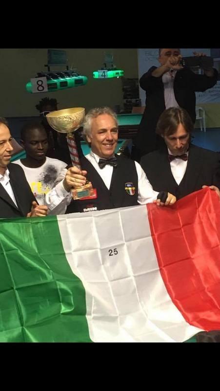 Carom Billiard Marco Zanetti Shines With 25th Title In
