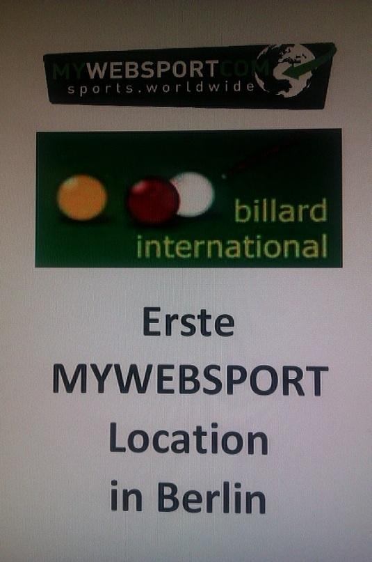 Billard Karambol Mywebsport Beim Bc International In Berlin